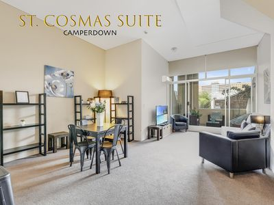 """Photo for """"St. Cosmas Suite"""" Short term furnished apartment"""