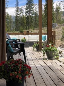 Summer Time at 121 enjoy the decks while relaxing & enjoying the views of Baldy