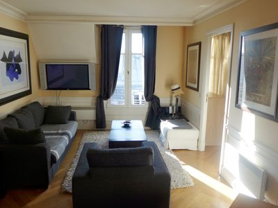 Photo for Comfortable 2 Br apt in high standard building right in middle of SAINT GERMAIN