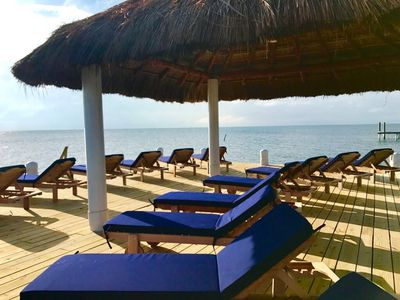 Photo for Best Property on Caye Caulker, private beach, dock, pool, free wifi, AC, #4