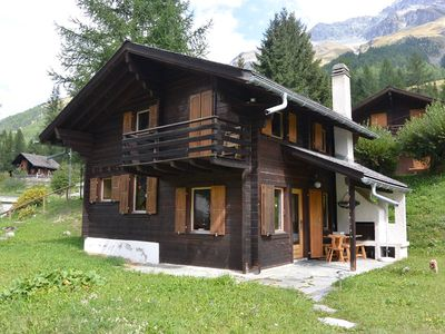 Photo for 1 bedroom with 1 double bed - 1 bedroom with 2 bunk beds - mezzanine with 2 beds - living room - chi
