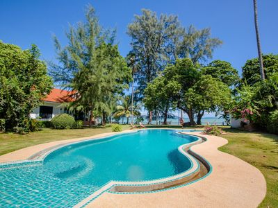 Photo for Beach Front Villa in Rawai