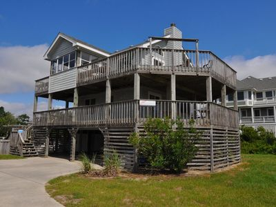 Photo for OCEANSIDE: Only 800 feet to beach access!  Spacious patio. Private Pool.