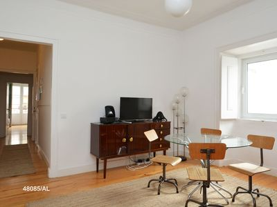 Photo for Apartment in central Lisbon, near Bairro Alto