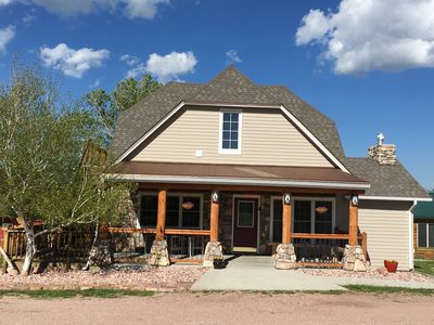 Photo for Unique Historic Home, Completely renovated for families, In the heart of Custer
