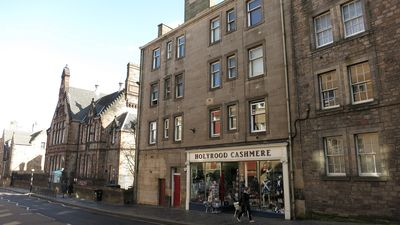 Access to this 120-year old building is from the Royal Mile.