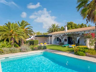 Photo for Modern villa w/ pool and ocean view 10-minute drive from amenities