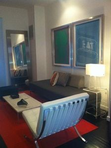 Photo for Luxury One-Bedroom in Historic Brownstone1 Block from Metro