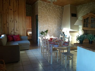 Photo for Chalet 12 people max. Warm!Exceptional offer!Near station. IDEAL family