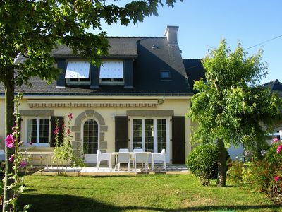 Photo for Morbihan villa 5/9 pers. 4 ch. beach at 60m, 3-star label, free wifi