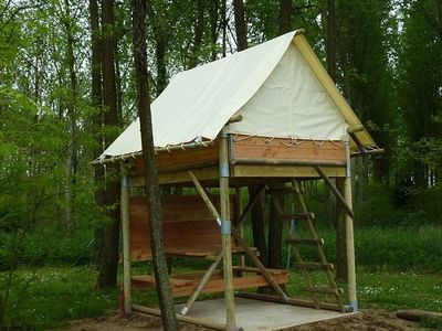 Photo for Camping du Lac **** - Perched Tent 1 Room 2 People