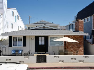 Photo for Remodeled 3 Bdrm House & 1 Bdrm Back House - Steps to the Sand, Patio, A/C!