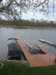 Photo for NEWER COTTAGE ON CROOKED LAKE ANGOLA IN WITH OPTIONAL PONTOON RENTAL