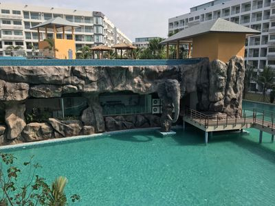 Photo for Perfectly Located Apartment within a beautiful Resort in Jomtien Pattaya