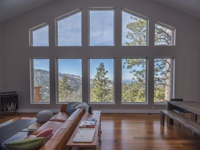 Photo for Aerial Ascent Yosemite is a spacious 2800 square feet, three-bedroom, two-bath, sleeps 10 comfort...