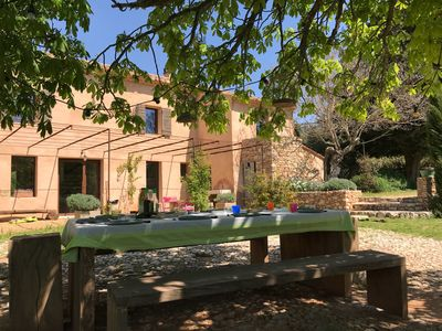 Photo for Traditional farmhouse at the foot of Sainte Victoire in the heart of Cézanne's landscapes.