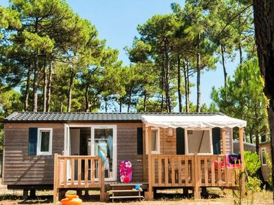 Photo for Camping Atlantic Club Montalivet ***** - Mobil Home 4 Rooms 6 People