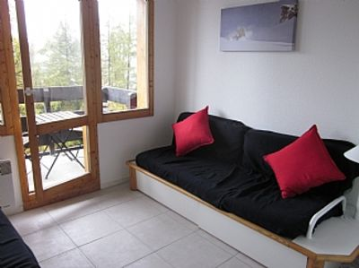 Photo for Ski-in/Ski-out Apt In Les Coches w/Private Balcony & Beautiful Mountain Views