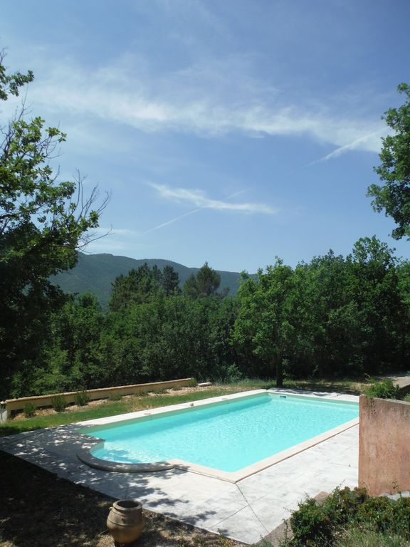 nice house with a big swimming pool and superb open view in middle of nature - Nice Big Houses With Pools