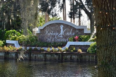 Heritage Oaks Golf & Country Club - Sarasota, FL (entrance)