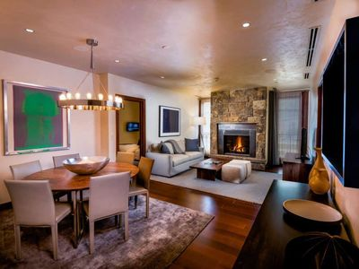 Photo for Vibrant 2 Bedroom Luxury Residence at Solaris Vail! Steps to Gondola One!