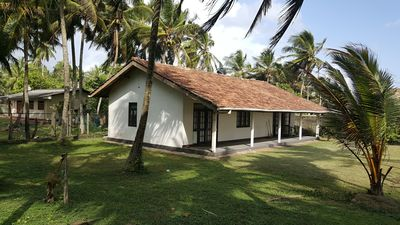 Photo for Beach Front Villa Waskaduwa (2 bedrooms, 2 bathrooms, large terrace sunset view