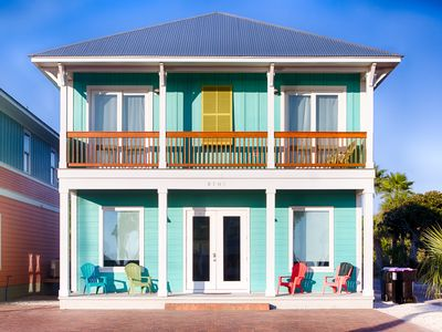 Photo for Sea Escape! Pool access - Grill - Steps to the beach - Close to attractions