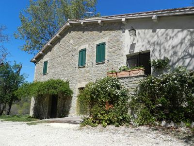 Photo for 7 km away from Assisi. Antique stone house in the Park of Mount Subasio. There is a private pool.