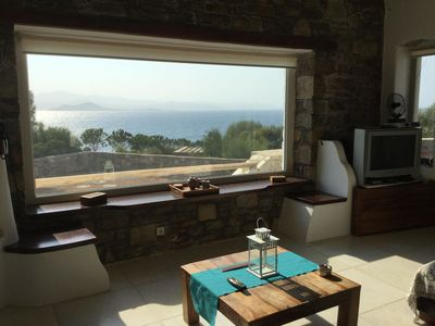 Photo for House with wonderful view overlooking Mediterranean See, Quiet area although