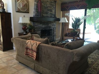 Photo for Gorgeous Palm Desert Condo with Great Fairway and South Mountain views.