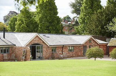 This stylishly refurbished cottage for two was once the bothy used by the estate's gardeners as a potting shed for all of the exotic plants and flowers grown in the glass houses