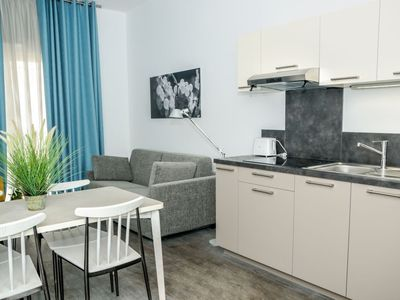 Photo for Apartment in the center of Jonzac with Lift, Parking, Internet, Washing machine (971058)