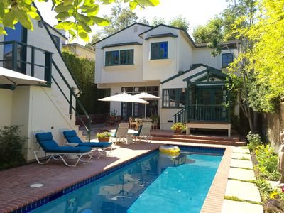 Photo for Quiet, In The Heart Of Brentwood, Home With Pool And Guesthouse