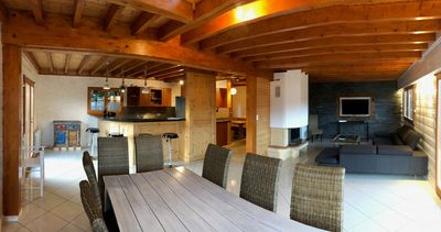 Photo for Mountain lodge with spectacular views – Chalet Blanc Ruxel