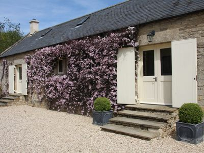 Photo for The Granary is in a rural location, perfect for families, couples and pets.