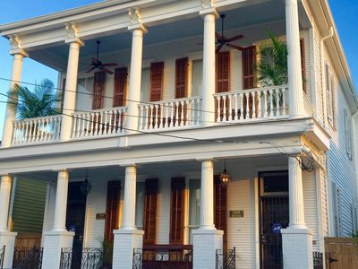 Photo for Renovated Greek Revival in the Marigny/Bywater. Ideal Location, Southern Charm.