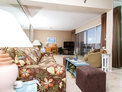 Photo for Islander 306: FEEL AT HOME! WIFI,W/D,balcony,sunset view,FREE BEACH SERVICE~