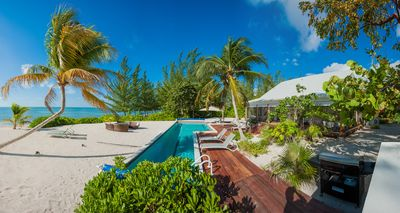 Photo for 5 Bedroom Ultra-Chic Beachfront Cottage with Private Pool