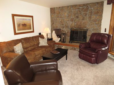 Photo for On Lake Dillon-Walk to Marina, Dillon Amphitheater, Restaurants, Parks. Deck with Grill, 2 Hot Tubs