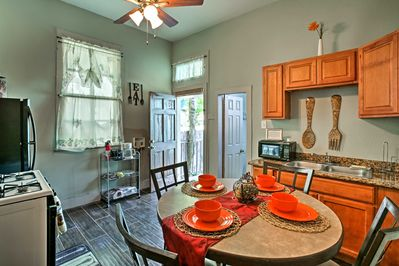 This 2-bedroom, 1-bath shotgun-style home has everything you need!