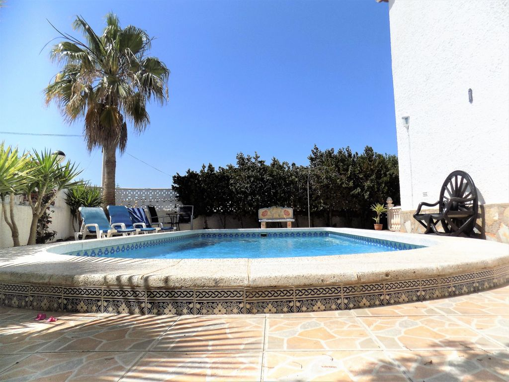 Awesome Large 5 Bedroom Villa Private Pool Costa Blanca Spain Sleeps 12.