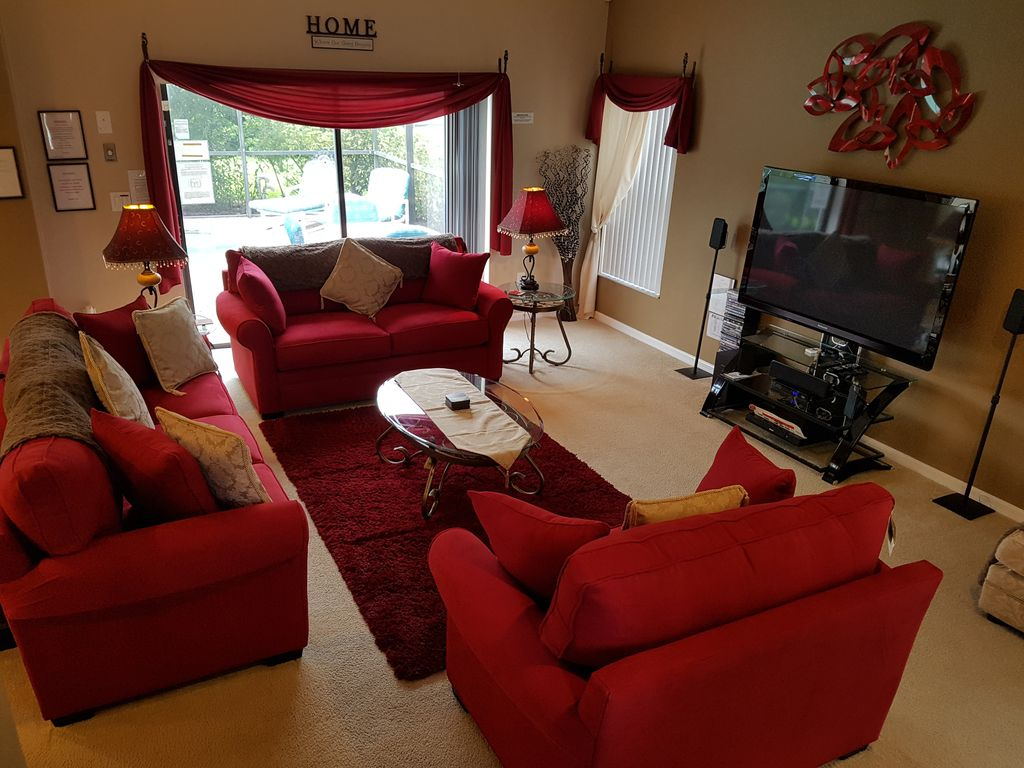 Mediterranean Executive villa,70in... - HomeAway Clermont