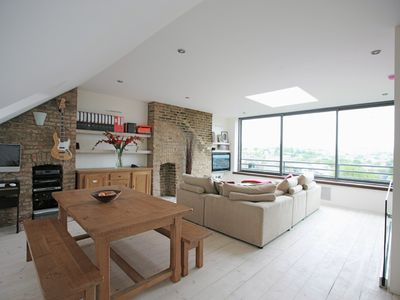Photo for Luxury central London loft apartment. Stunning Views.