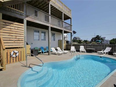 Photo for Oceanside in Rodanthe w/HtdPool, Hot Tub, Pet Friendly