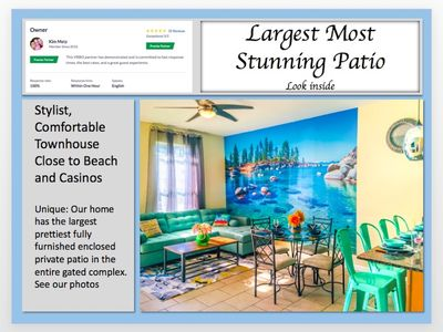 Photo for 🏖 Green BEACH house - Swimming Pool, Casinos, Gated Complex ❤️  NEWLY RENOVATED