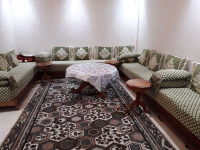 Photo for 2BR Apartment Vacation Rental in Meknès