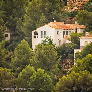Photo for Contemporary villa, private pool, stunning views, golf, wifi, peace and calm.