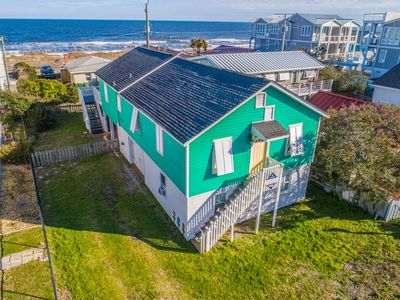 Photo for Hit The Beach: Family vacation rental in Kure Beach, beachside, with great views