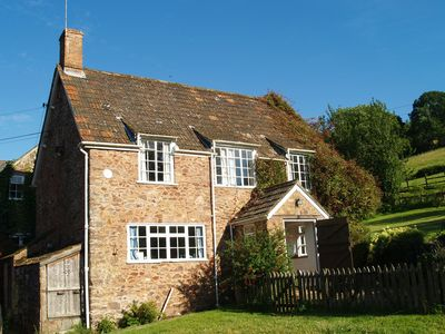 Photo for Cottage peacefully located on a sheep farm in the heart of the Quantock Hills