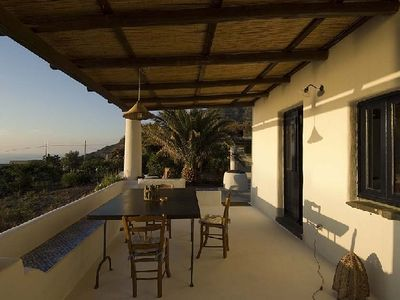Photo for Malfa villa rental sicily